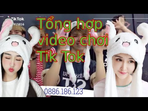 Tổng Hợp Video Mũ Tai Thỏ Giật Tai Chơi TIK TOK -( Hat Habit Moving )