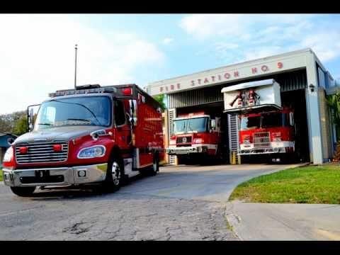 Fire Trucks Responding  YouTube