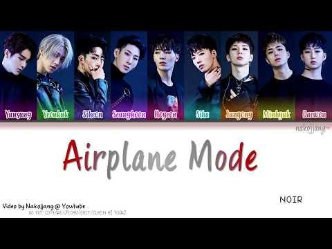 NOIR (느와르) – AIRPLANE MODE (Color Coded Lyrics Eng/Rom/Han/가사)