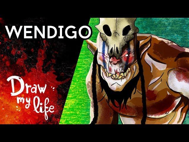 El WENDIGO, el HORROR de los BOSQUES - Draw My Life en Español
