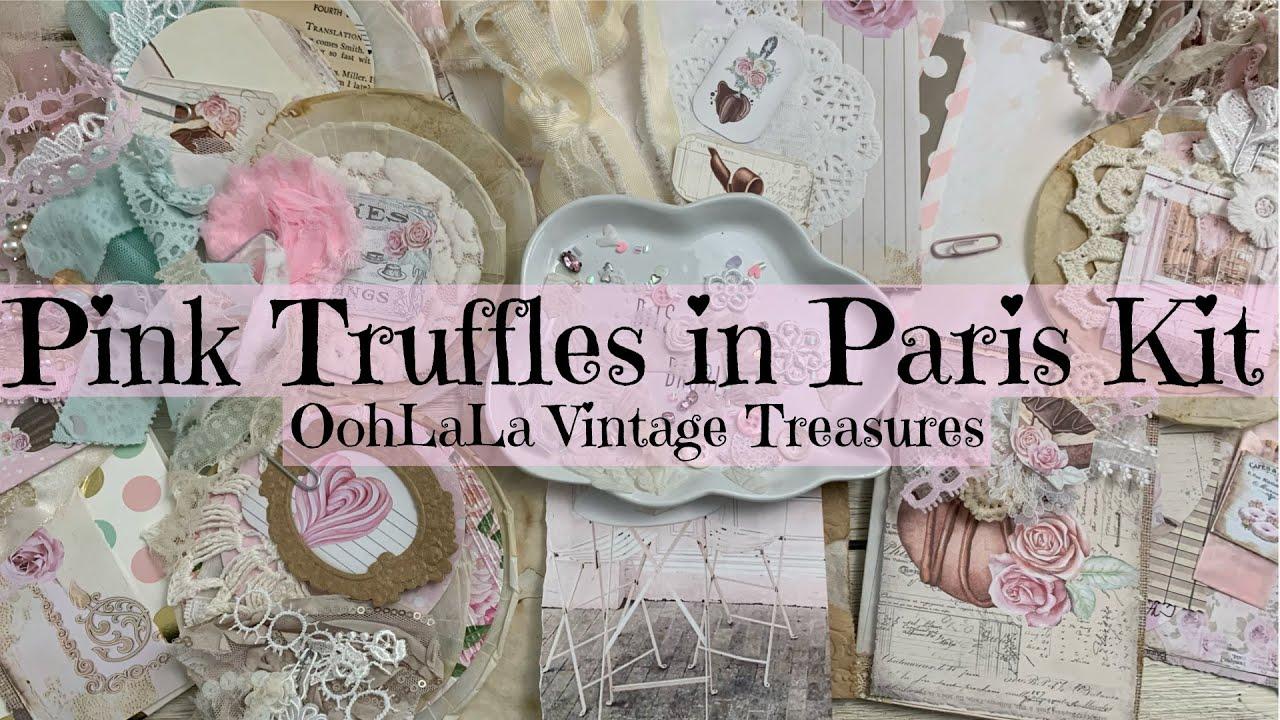 Pink Truffles in Paris Kit | @Ooh La La Vintage Treasures