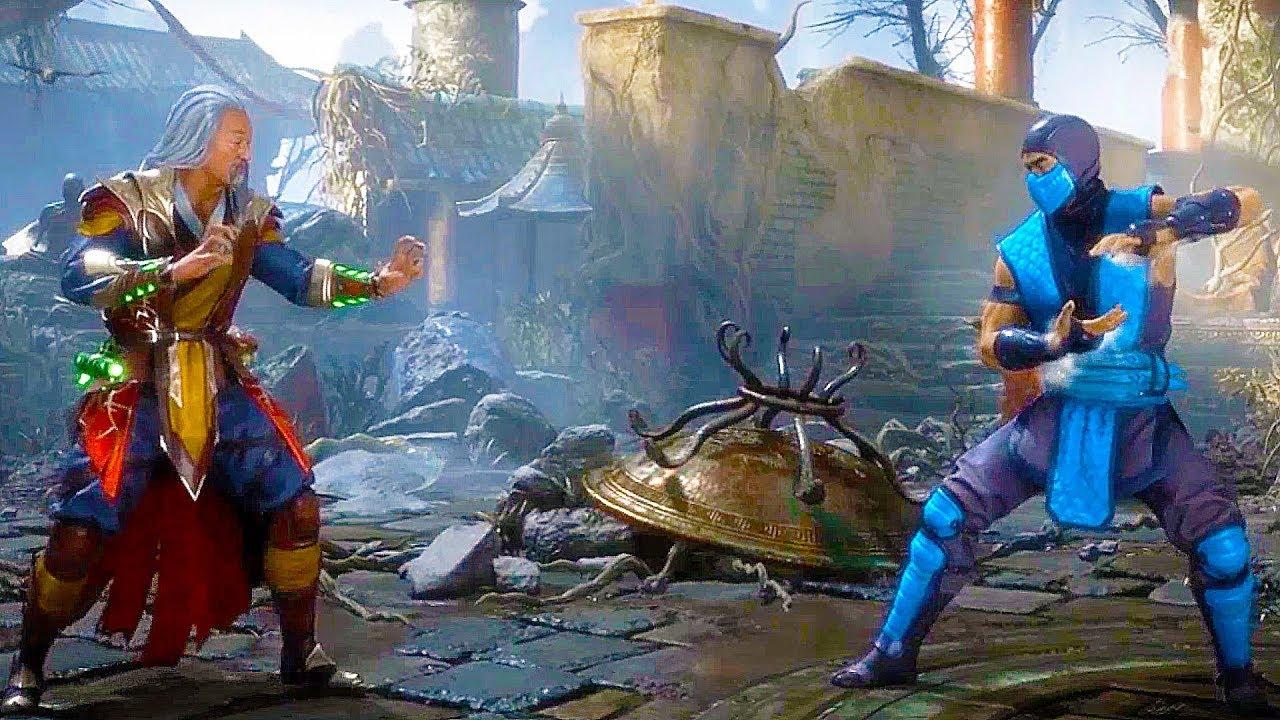 Mortal Kombat 11 Shang Tsung Character Breakdown Gameplay (DLC) MK11