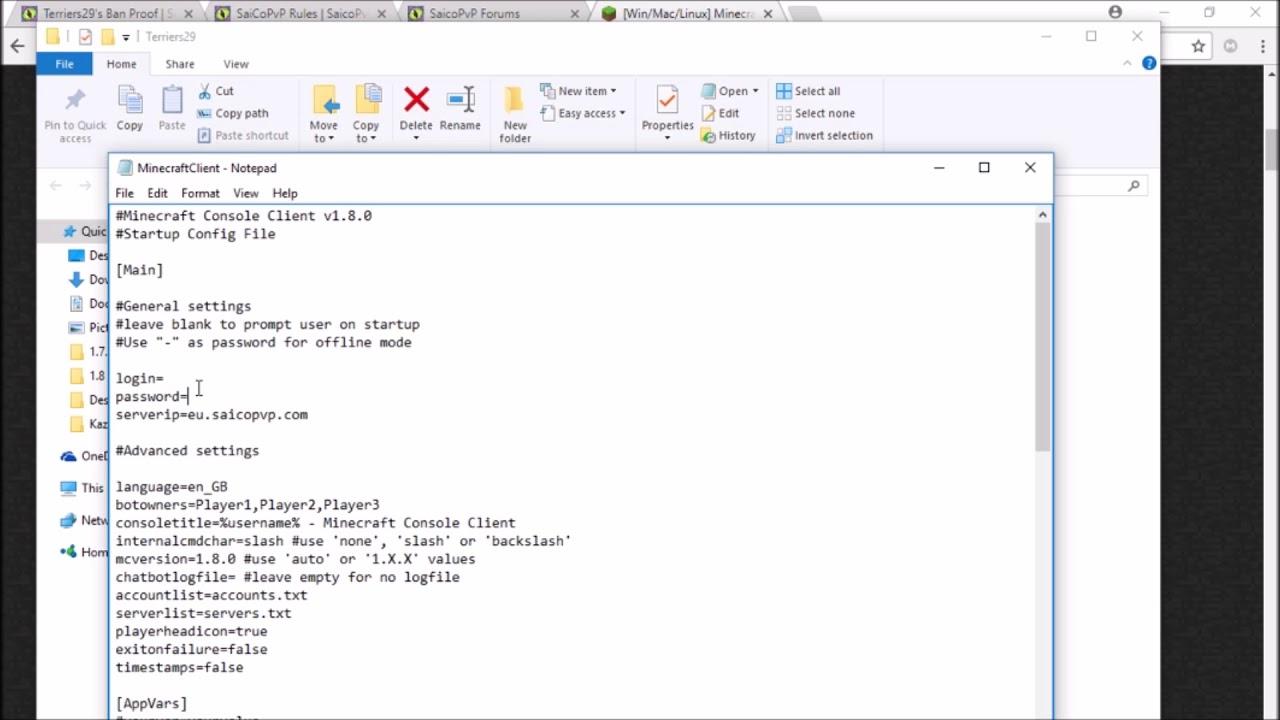 Console Client | SaicoPvP Forums
