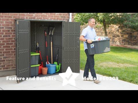 Produktvideo Lifetime Horizontal Shed