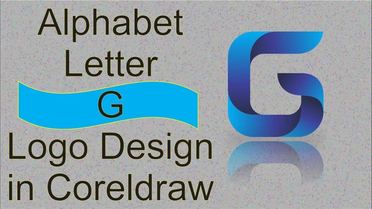 CorelDRAW Tutorial alphabet letter G logo design 2 | Sincerely Friend