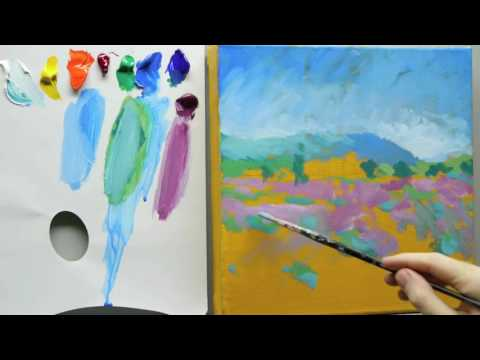 How to paint like Monet:Part 2 – Lessons on Impressionist landscape painting techniques