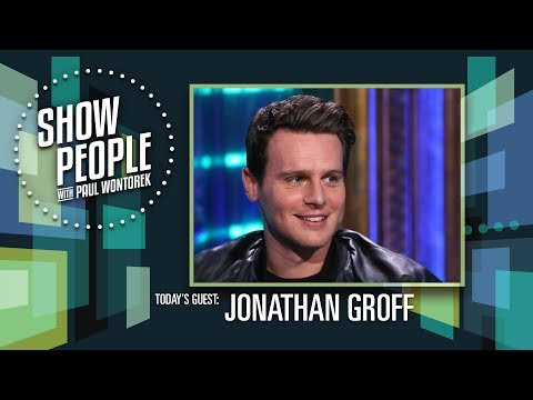 Show People with Paul Wontorek: Jonathan Groff of MINDHUNTER