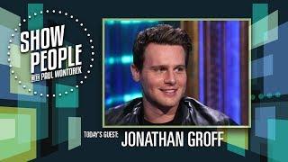 Show People with Paul Wontorek: Jonathan Groff of MINDHUNTER