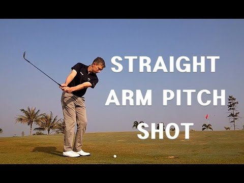 pitching-/-pitch-shot---straight-arm-technique