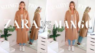 ZARA VS MANGO HAUL | WHO DOES BETTER AUTUMN/WINTER CLOTHING?