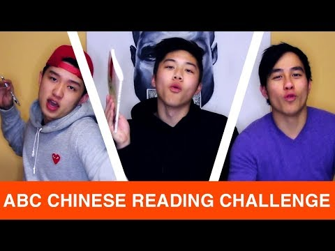 CAN CHINESE AMERICANS READ BASIC CHINESE? (we try and find out)   Chinese Language Challenge