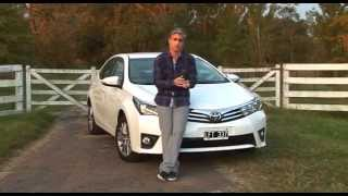 Nuevo Toyota Corolla SE-G 1.8 MT - Test - Matias Antico