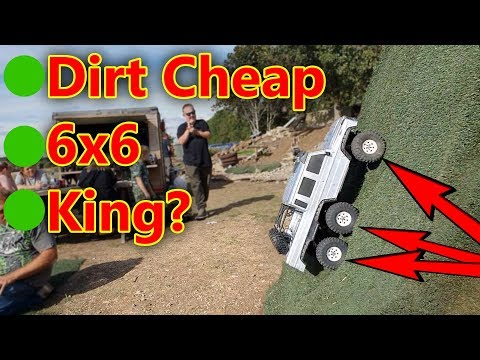 Whats Going On Here? 6x6 Dirt Cheap RC Crawler Car