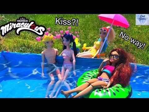 POOL Party Miraculous Ladybug Swimming floaties - swim - water fun - splash Doll Episode Season 2
