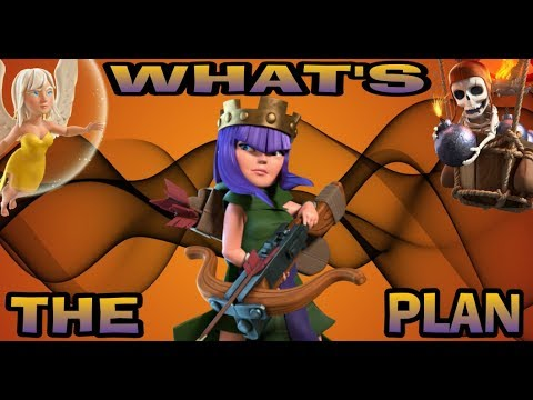 WHAT'S THE PLAN(QUEENWALK LALOON PLANNING)-CLASH OF CLANS-TH9