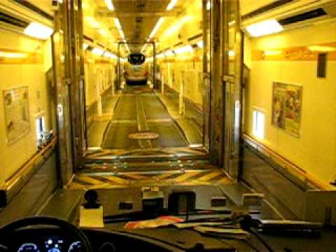 euro tunnel le shuttle 1 youtube. Black Bedroom Furniture Sets. Home Design Ideas