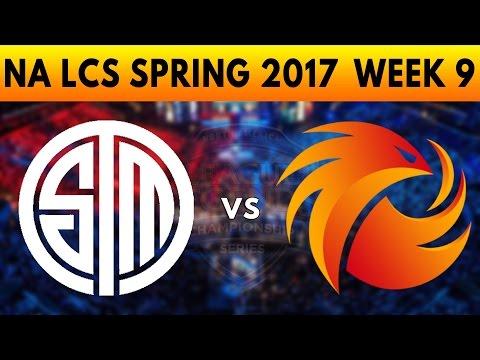 TSM vs P1 Game 2 - NA LCS SPRING 2017 WEEK 9 - TEAM SOLOMID vs PHOENIX 1