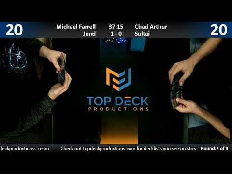 Modern w/ Commentary 11/13/18: Michael Farrell (Jund) vs. Chad Arthur (Sultai)
