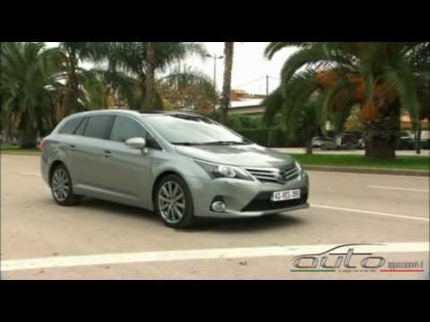 test new toyota avensis 2012 youtube. Black Bedroom Furniture Sets. Home Design Ideas