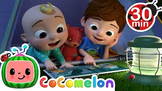 Yes Yes Bedtime Camping Song + More Nursery Rhymes & Kids Songs - CoComelon