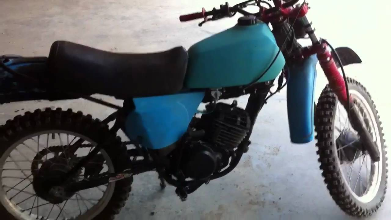 1977 yamaha it 175 first run after full motor rebuild and for Yamaha 175 sho