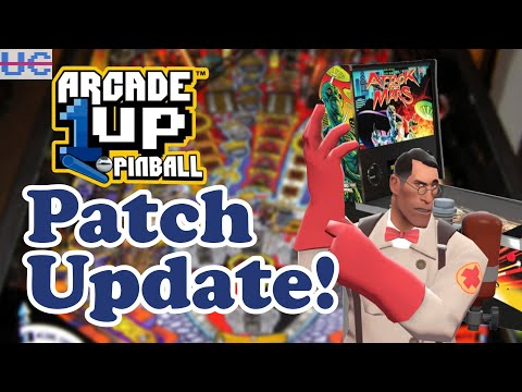 Arcade1up Pinball Patch Is Complete! Arcade1up Entries Join Twin Galaxies + House of the Dead Remake from Unqualified Critics