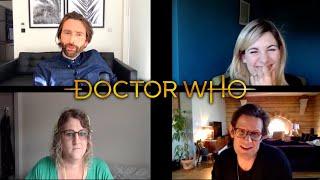 Doctor Who Interview - David Tennant, Jodie Whittaker, & Matt Smith