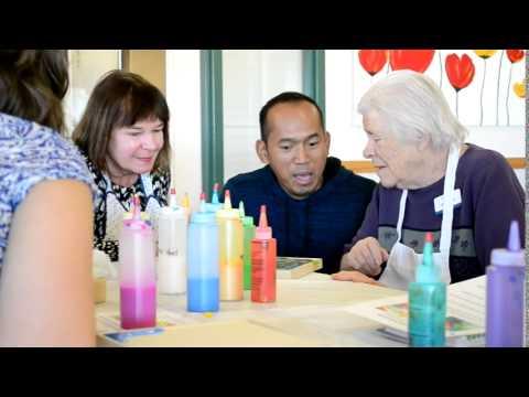 Alzheimer Calgary Club 36 art program