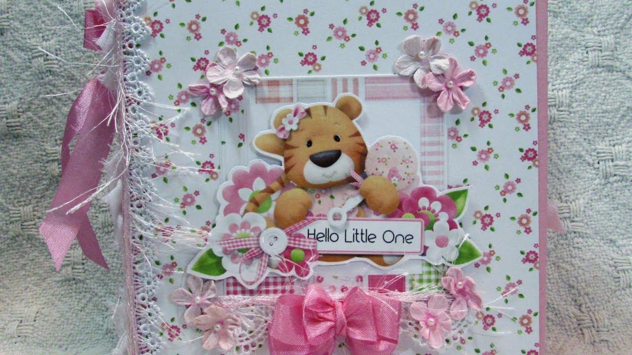 Custom Baby Girl Mini Album Rosette Mini Album For Sale Youtube
