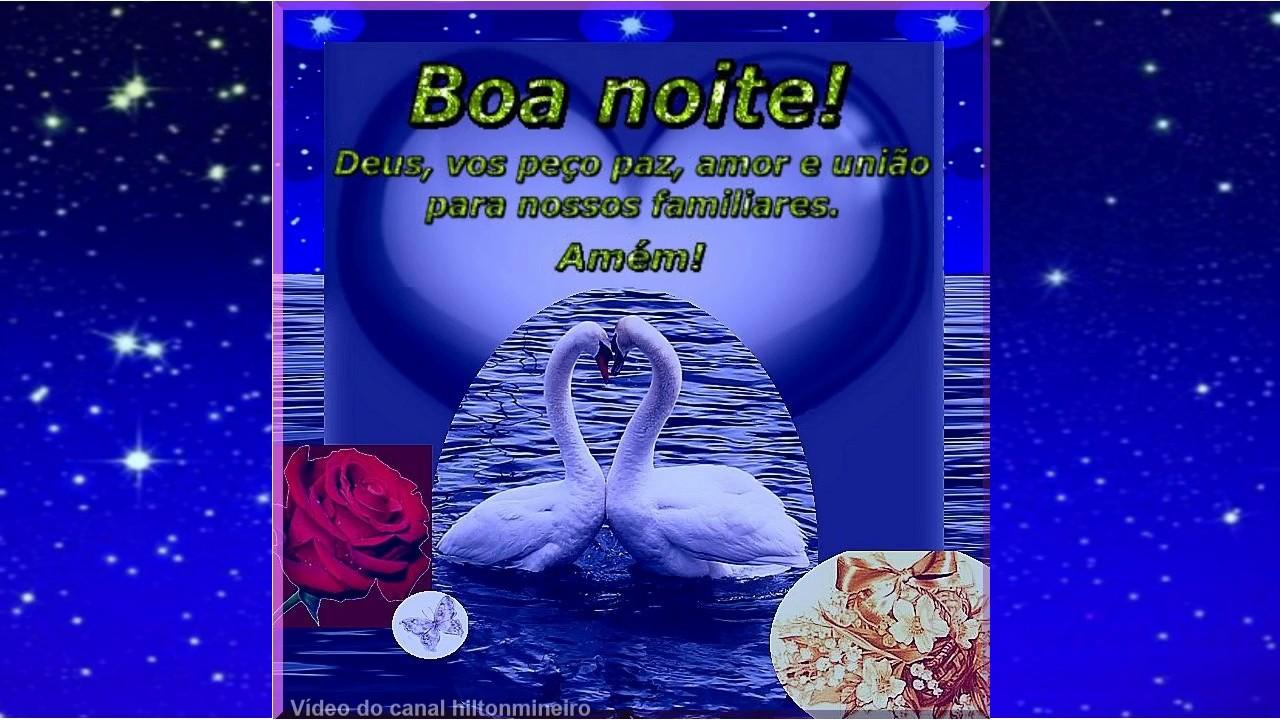 Mensagem De Boa Noite Amor: Linda Mensagem De Boa Noite! Paz, Amor E União