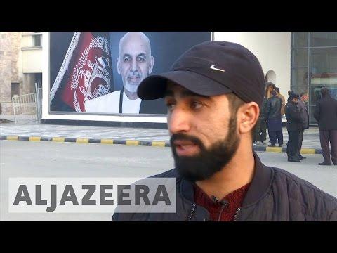 Deported Afghan refugees return from Germany