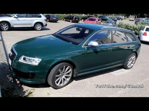 Audi RS Avant In Monterrey Green P HD YouTube - Monterey audi
