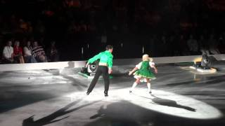 Dancing on Ice Live - Sam and Brianne do Riverdance