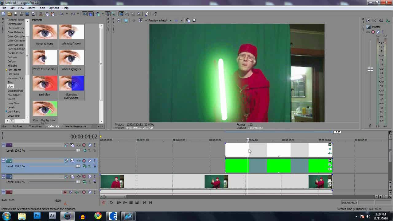 how to make cgi in sony vegas pro
