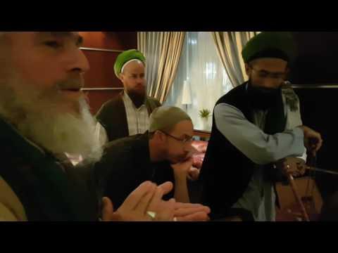 Mawlid in Medina al Munawara with Sheikh Hassan Dyck and Egyptian brothers