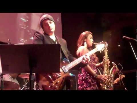 Jessy J Performs Tropical Rain Live at Anthology