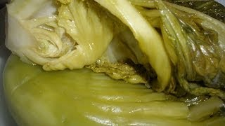 How to make Pickled Green Mustard
