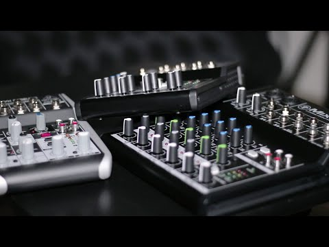 Comparing USB Mixers, Analog Mixers, and USB Audio Interfaces!   The Audio Setup