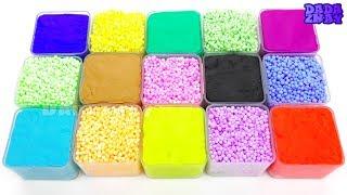 Учим цвета с Play Doh и Шариковым Пластилином | Учим название Фруктов для детей