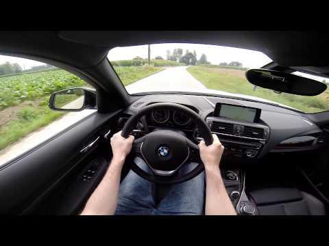 BMW 1 Series 2015 118d XDrive Hatch POV Test Drive GoPro