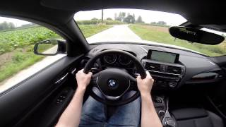 BMW 1 Series 2015 118d xDrive Hatch POV test drive GoPro