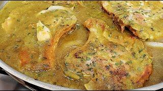 Pork Chops in Salsa   Pork Chops in Salsa Verde Recipe