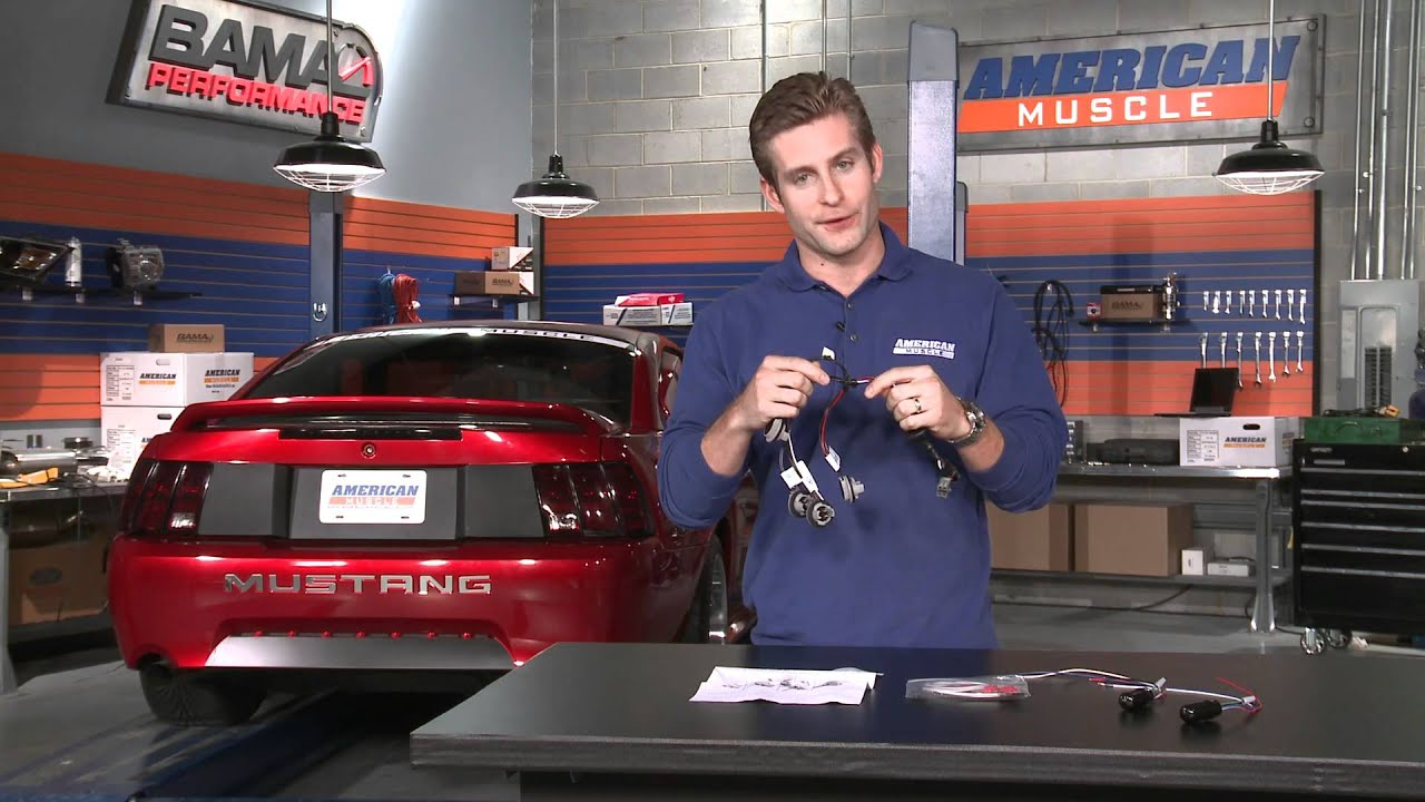 Mustang Sequential Tail Light Kit Splice In 96 04 All Excludes 1999 Wiring Diagram 99 01 Cobra Review Youtube