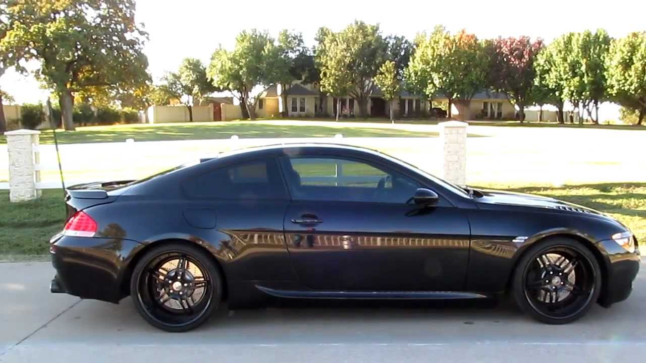 BMW M6 for sale in Texas 660 hp paddle shifter 7 gears custom