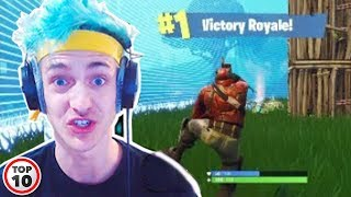 Top 10 Luckiest Moments In Fortnite History
