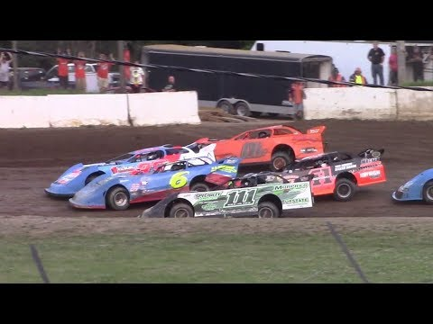 RUSH Crate Late Model Heat One | Eriez Speedway | 7-16-17