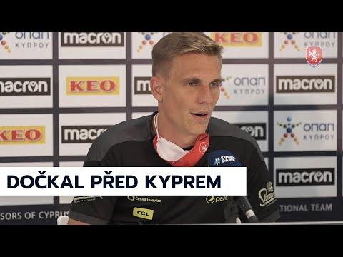 ČR A   Bořek Dočkal před zápasem s Kyprem