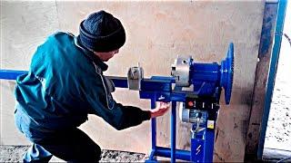 Самодельный электрический станок для холодной ковки. Forging(Наш Сайт: http://www.samodelkityt.ru Есть у меня ручной станок для скручивания квадрата (торсионов) и корзинок, но так..., 2015-11-04T09:16:29.000Z)