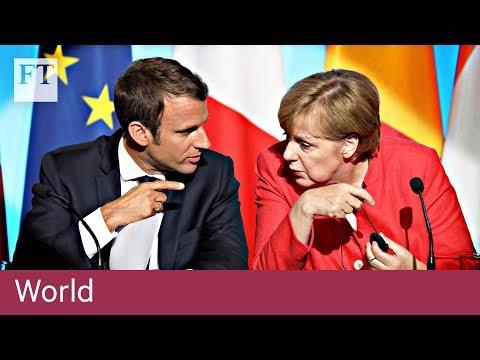 Merkel backs Macron's eurozone vision | World