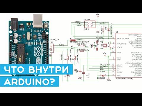 #3 Arduino изнутри - структура и назначение компонентов (ATmega328P). Уроки Arduino для начинающих